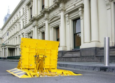 Melbourne Crash Barrier